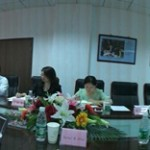 Meeting with Century College officials