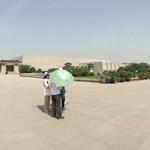 A panorama of the Mausoleum of the First Qin Emperor