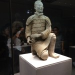These Terra Cotta Warriors gave people a chance to view the detail up close